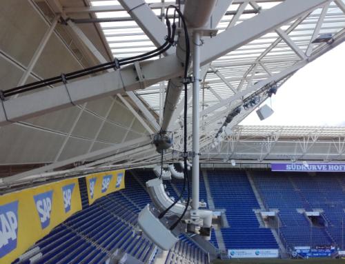 PreZero Arena: LTE-Empfang ausgebaut