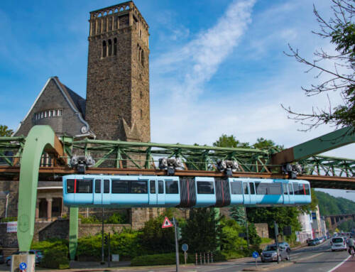 Bahnsteigüberwachung für eine Kultbahn